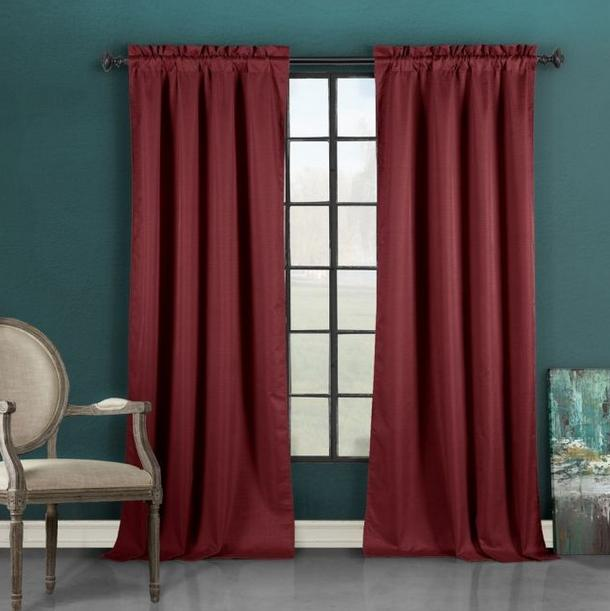 $9Blackout Energy-Saving Window Panel Curtain