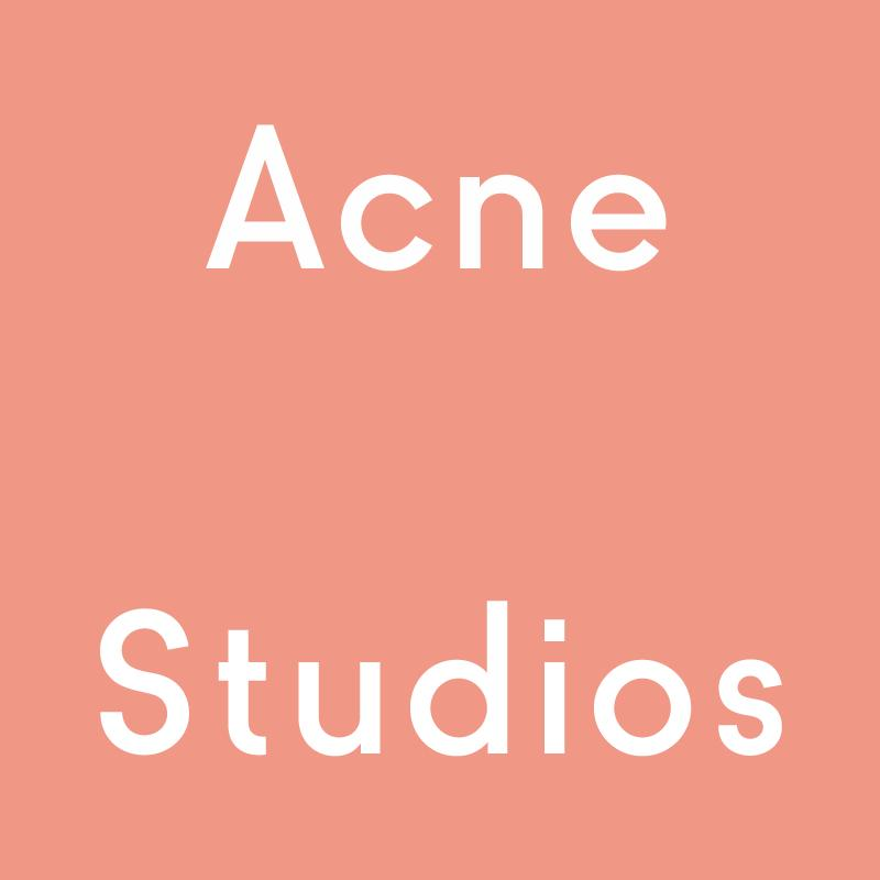 Up to 50% OffSummer Sale @ Acne Studios US