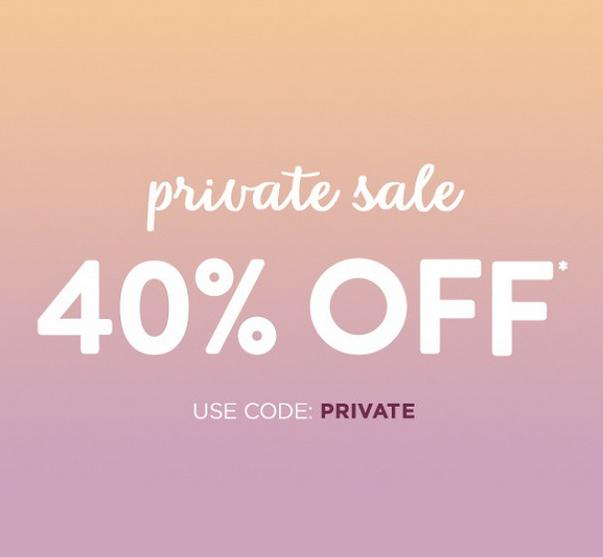 40% OffPrivate Sale @ Carols Daughter