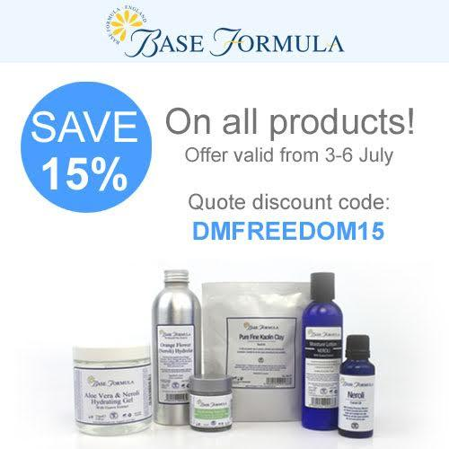 Celebrate Independence Day15% Off Sitewide @ Base Formula