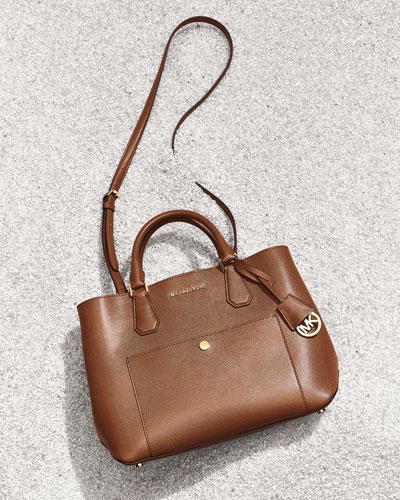 25742bd1a983 MICHAEL Michael Kors Greenwich Large Leather Tote Bag  206.70 - Dealmoon
