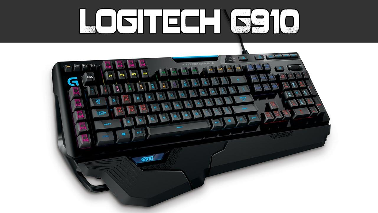 Logitech - G910 Orion Spark Mechanical Gaming Keyboard - Black