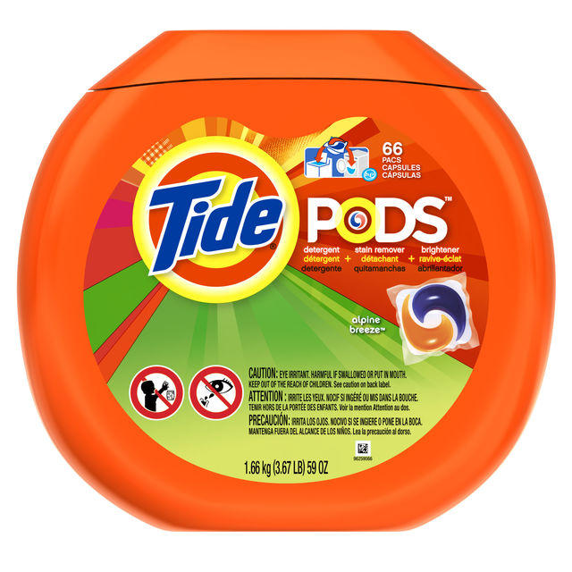 Tide PODS Detergent Alpine Breeze 66 ct X 4