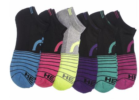 6-Pack: HEAD Women's Moisture Wicking Socks @ Flash Steals