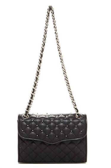 08920829ae1 Rebecca Minkoff Studded Quilted Mini Affair Leather Handbag   Nordstrom Rack