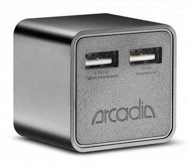 $4New Trent 5-volt 3.4-amp Dual USB Wall Charger