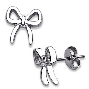 $6Designer-Inspired Bow Earrings, Dealmoon Exclusive