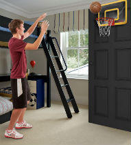 ad86c70e3ac POOF Pro Gold Over The Door Basketball Hoop Set - Dealmoon