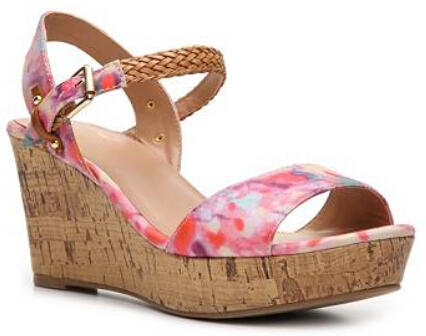 Mix No. 6 Zessi Floral Wedge Sandal