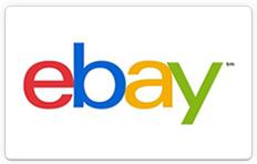 $90 + Free Shipping2 X $50 eBay eGift Cards @