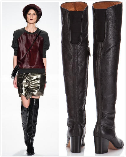b471a65c9af Rebecca Minkoff Blessing Over Knee Boots On Sale   6PM.com - Dealmoon