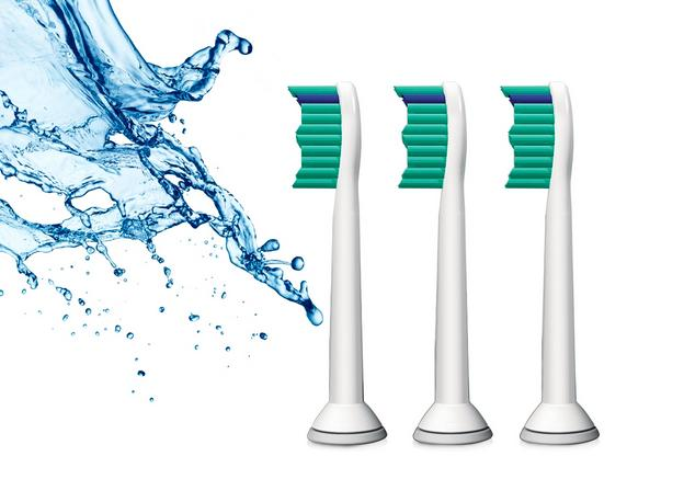 Phillips Sonicare Toothbrush HX6013 Replacement Brush Heads - 3 Packs