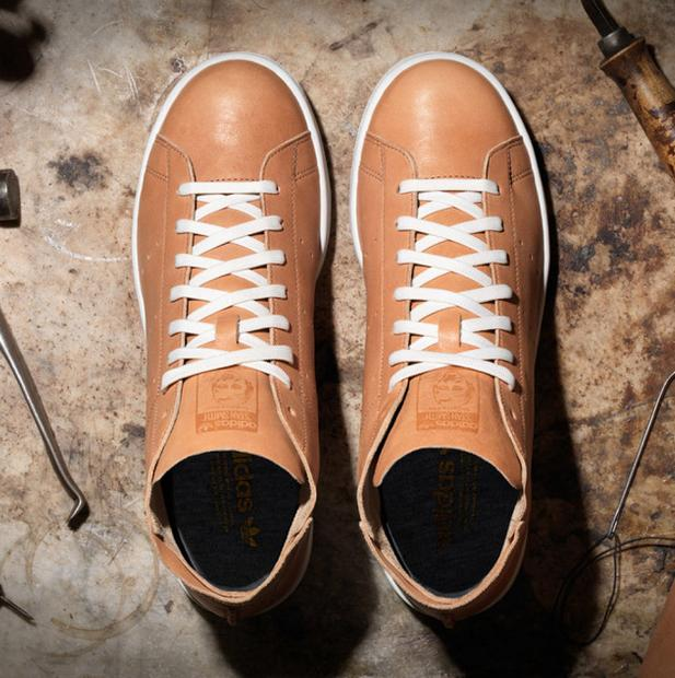 $150.00 Adidas Stan Smith X Horween Leather