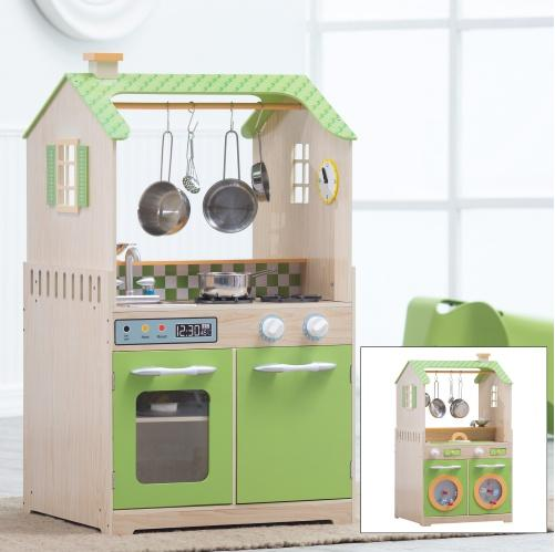 $94Teamson Kids Play Kitchen and Laundry Playset