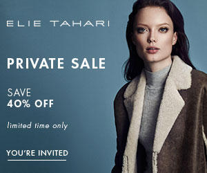 40% OffFall Private Sale @ Elie Tahari