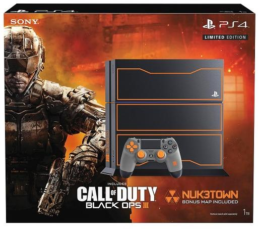 playstation 4 1tb call of duty black ops 3 limited edition