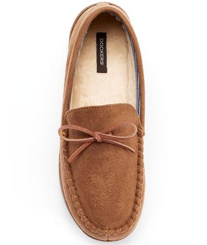 412370efbd1 Dockers Boater Men s Moccasin Slippers On Sale   Kohl s Extra 30% Off -  Dealmoon