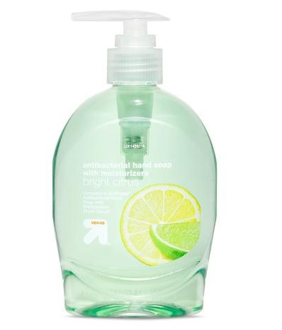 $0.7 up & up citrus Hand Soap + Free shipping @ target