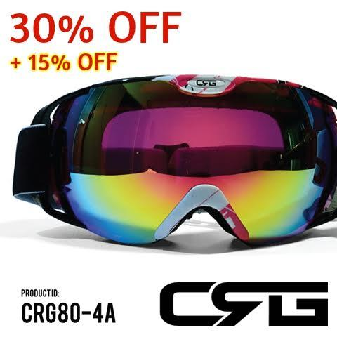 30% Off + Extra 15% Off CRG Sports Vintage Aviator Pilot Style Motorcycle Cruiser Scooter Goggle Sale @ Amazon
