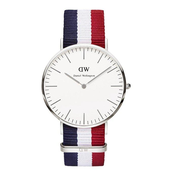 Daniel Wellington Men's 0203DW Cambridge Analog Display Quartz Multi-Color Watch