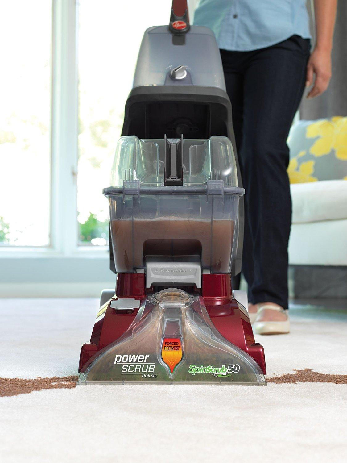 $99Hoover Power Scrub Deluxe Carpet Washer, FH50150