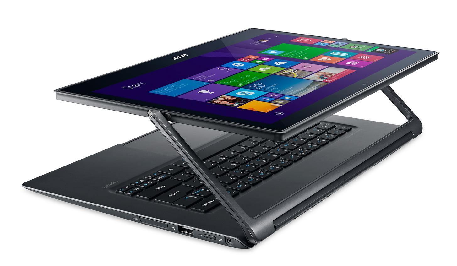Acer Aspire R13 Touchscreen 2-in-1 Laptop