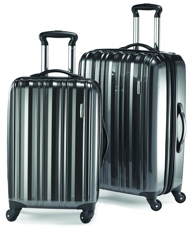 73% Off Samsonite Two-Piece Spinner Sets