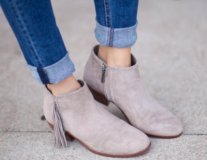 c709257030a Sam Edelman  Paige  Fringed Ankle Bootie   Nordstrom - Dealmoon