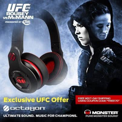 $99Monster  Monster UFC Octagon Headphones Sale