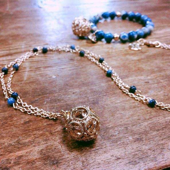 Free Tuscan Fig Fragrance Necklacewith $100 Purchase @ Lisa Hoffman Beauty
