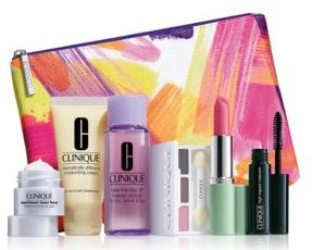 Free 7-piece gift setwith any $27 Clinique Purchase @ Stage Stores