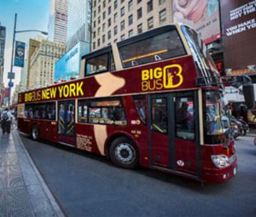 Free Big Bus Hop-on Hop-off Tourswith New York Pass Purchase @ New York Pass