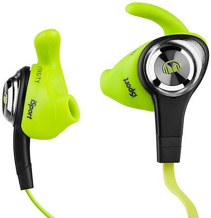 Monster iSport Intensity In-Ear Headphones In-Ear, 3-Button ControlTalk