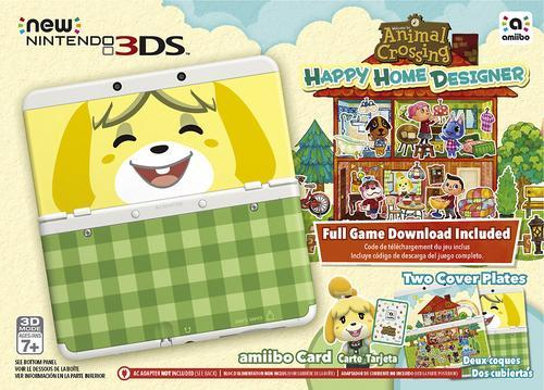 $157.54!New Nintendo 3DS Console Animal Crossing: Happy Home Designer Bundle - White