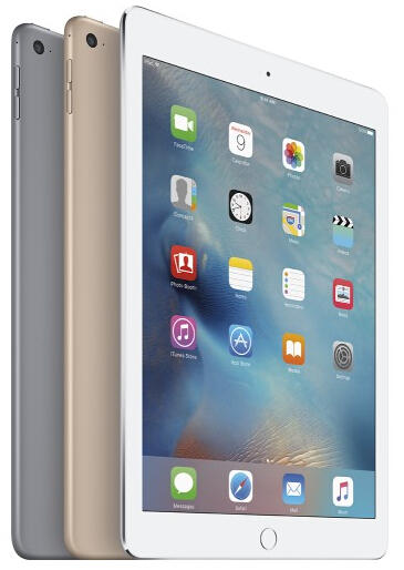 $379 Apple - iPad Air 2 Wi-Fi 16GB