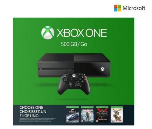 From $280.00 Xbox One 1T and 500GB