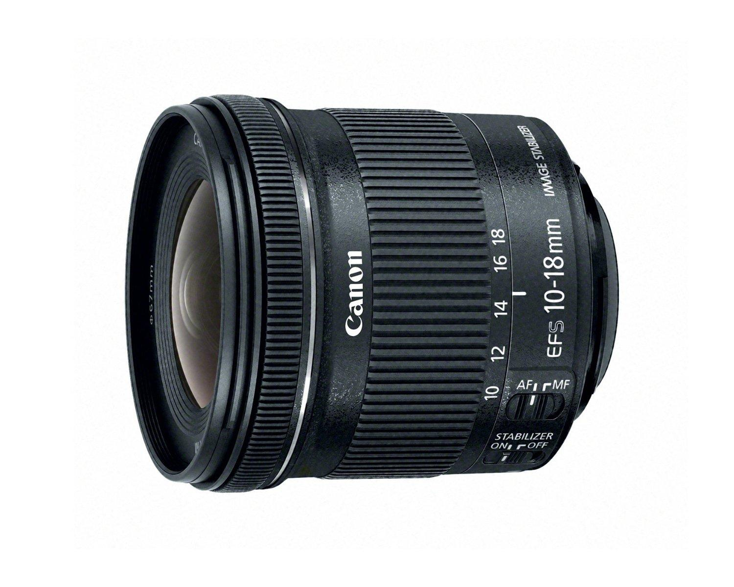 $249.00 Canon EF-S 10-18mm f/4.5-5.6 IS STM