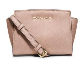 2e769e7ab73c5 MICHAEL Michael Kors Selma Mini Saffiano Leather Crossbody - Dealmoon
