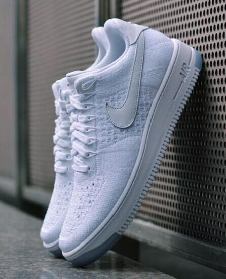 new style 38e9a af682 nike air force 1 flyknit foot locker