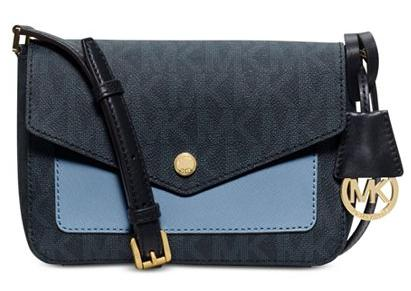 6903dfb91cc85e MICHAEL Michael Kors Greenwich Small Flap Crossbody - Dealmoon
