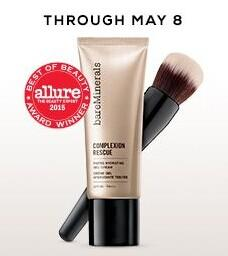 Receive a Free 6-pc Mystery Collection (a $93 value)with any $65 purchase + Free Shipping! @Bare Minerals
