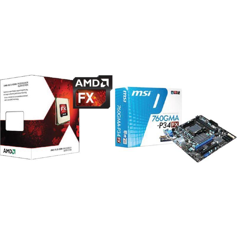 AMD FX-6300 & MSI 760GMA-P34 (FX) Motherboard and CPU Combo