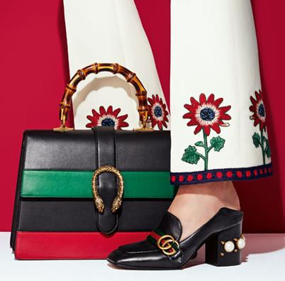 Gucci Shoes @ Saks Fifth Avenue Up to
