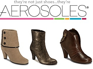 Extra 20% offall clearance $29.99 & below @ Aerosoles