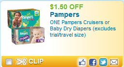 Various Printable Grocery Coupons:$1.50 off Pampers, $5 off Claritin, $1 off Starbucks Coffee, & more