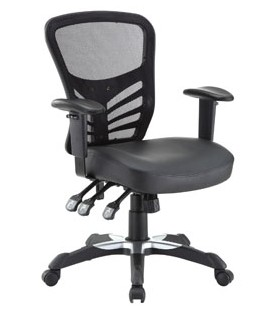 $99 ($330, 70% OFF)Articulate Mesh Office Chair with Fully Adjustable Black Vinyl Seat