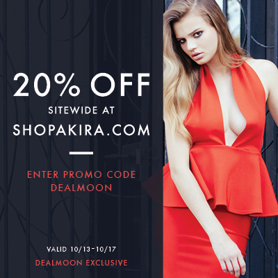 Dealmoon Exclusive! 20% sitewide@ Shopakira
