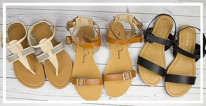 $10.993 Styles of Sandals Sale @ Jane