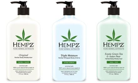 $11 Hempz Herbal Body Moisturizer - 12 Scents (17 Fl Oz)