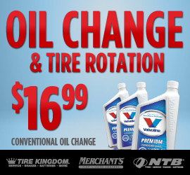 Tire Kingdom Oil Change Coupons >> Ntb Printable Coupon Basic Oil Change With Tire Rotation Change